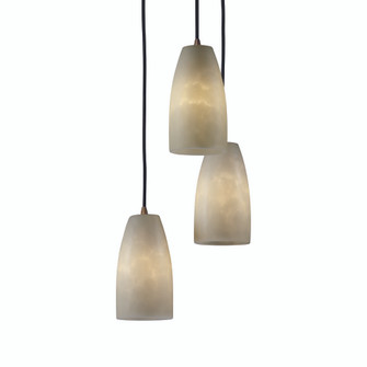 Small 3-Light Cluster Pendant (CLD-8864-28-DBRZ)
