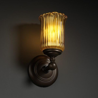 Tradition 1-Light Wall Sconce (GLA-8521-16-WHTW-ABRS)