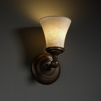 Tradition 1-Light Wall Sconce (POR-8521-20-WAVE-DBRZ)
