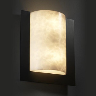 Framed Rectangle 3-Sided Wall Sconce (ADA) (CLD-5562-NCKL)