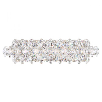 Baronet 5 Light Transitional Sconce in Polished Stainless Steel with Clear Crystals From Swarovski (168|BN1224N-401S)