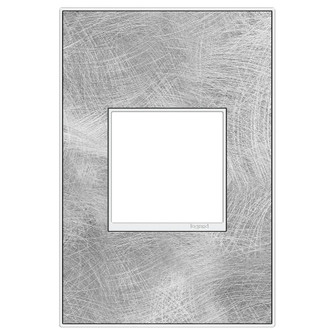 Spiraled Stainless, 1-Gang Wall Plate (1452|AWM1G2SP4)