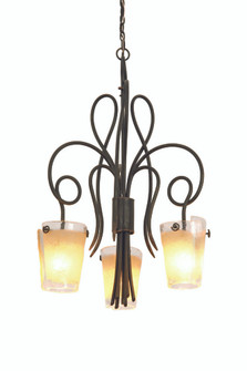 Tribecca 3 Light Chandelier (4298TO/FROST)