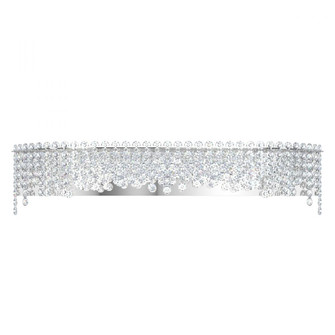 Chantant 6 Light Contemporary Sconce in Polished Stainless Steel with Clear Heritage Crystal (168|CH3640N-401H)
