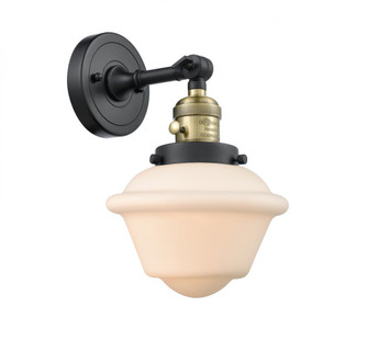 Small Oxford 1 Light Sconce (3442|203SW-BAB-G531-LED)