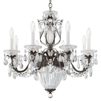 Bagatelle 11 Light Traditional Chandelier in Heirloom Bronze with Clear Crystals From Swarovski (168|1238N-76S)