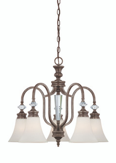 5 Light Down Chandelier (20|26725-MBS)