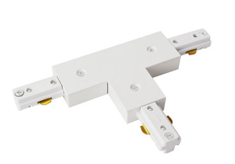 T-CONNECTOR FOR TRACK SECTION, MATTE frosted white (758 TKATC-MW)