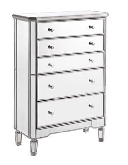 5 Drawer Cabinet 33 in. x 16 in. x 49 in. in silver paint (758|MF6-1026S)