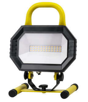 LED PORTABLE WORK LIGHT, 4000K, 102 degree, CRI80, UL, 15W, 100W EQUIVALENT, 35000HRS, LM1000, NON-D (758|PWL5001Y)