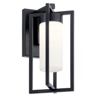 Outdoor Wall 1Lt LED (10684|59070BKLED)