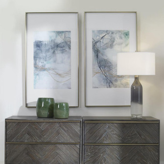Uttermost Undulating Oro Abstract Prints, S/2 (85 45099)