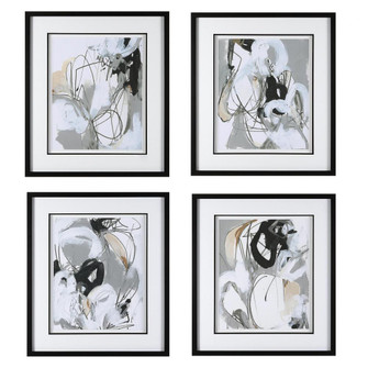 Uttermost Tangled Threads Abstract Framed Prints, S/4 (85 41419)