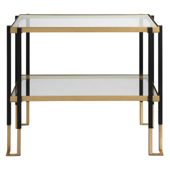 Uttermost Kentmore Glass Side Table (85|25138)
