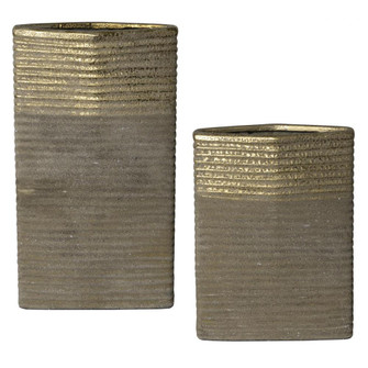 Uttermost Riaan Ribbed Vases, S/2 (85|17967)