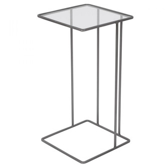 Uttermost Cadmus Pewter Accent Table (85|25122)