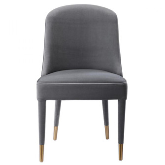 Uttermost Brie Armless Chair, Gray, Set Of 2 (85|23555-2)