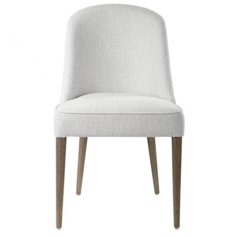 Uttermost Brie Armless Chair, White,Set Of 2 (85|23558-2)