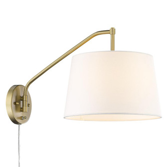 Ryleigh 1 Light Articulating Wall Sconce (36|3694-A1W BCB-MWS)