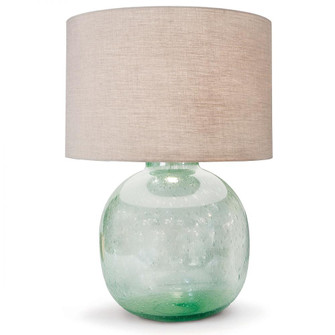 Seeded Recycled Glass Table Lamp (5533 13-1056)