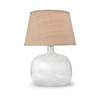 Seeded Oval Glass Table Lamp (5533|13-1059)