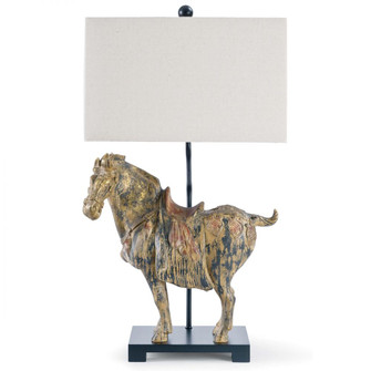 Dynasty Horse Table Lamps Pair (5533 13-1111)