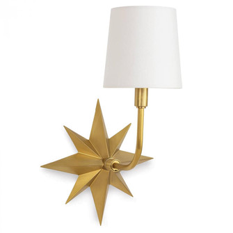 Etoile Sconce (Natural Brass) (5533 15-1158NB)