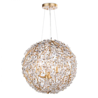 Cheshire Chandelier Small (Gold Leaf) (5533|16-1184GL)