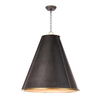 French Maid Chandelier Large (Black) (5533|16-1191BBNB)