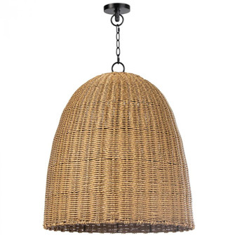 Beehive Outdoor Pendant Large (Weathered Natural (5533|17-1002NAT)