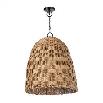 Beehive Outdoor Pendant Small (Weathered Natural (5533|17-1001NAT)