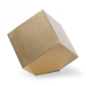 Closed Standing Cube (Brass) (5533 20-1111BRS)