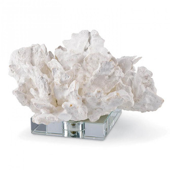 Flower Coral On Crystal Base (White) (5533 20-1135)