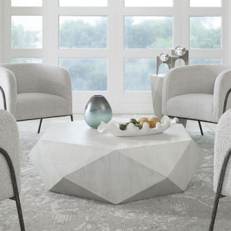 Uttermost Volker White Coffee Table (85|25163)