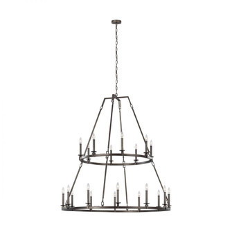 Landen Extra Large Two-Tier Chandelier (7725|F3217/20SMS)