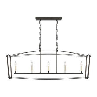 Thayer Linear Chandelier (7725|F3326/5SMS)