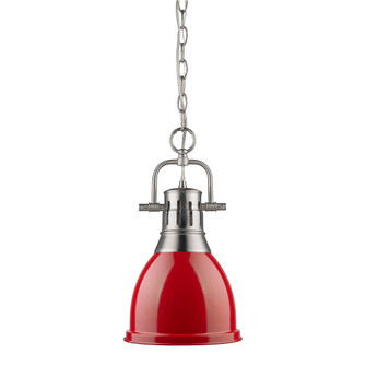 Duncan Small Pendant with Chain (36 3602-S PW-RD)