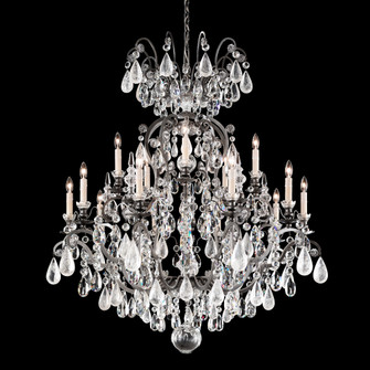 16 Light Crystal Chandelier in Antique Silver (168|3573-48CL)
