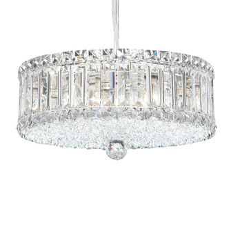 9 Light Crystal Pendant in Polished Stainless Steel (168|6670H)