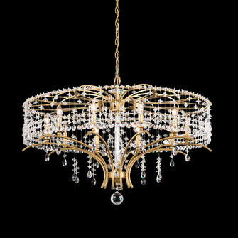 10 Light Crystal Chandelier in Antique Silver (168|TC1036N-48H)