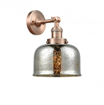 Large Bell 1 Light Sconce (3442 203-AC-G78)