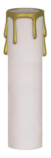 2'' ED. CANDEL COVER WHT/GOLD D (27 90/1514)