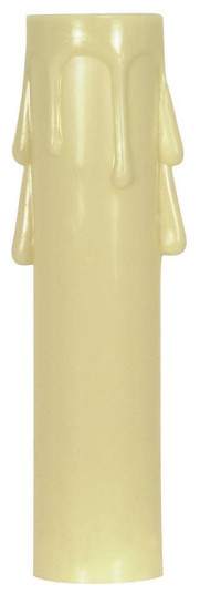 4'' CAND IVORY DRIP COVER (27 90/1261)