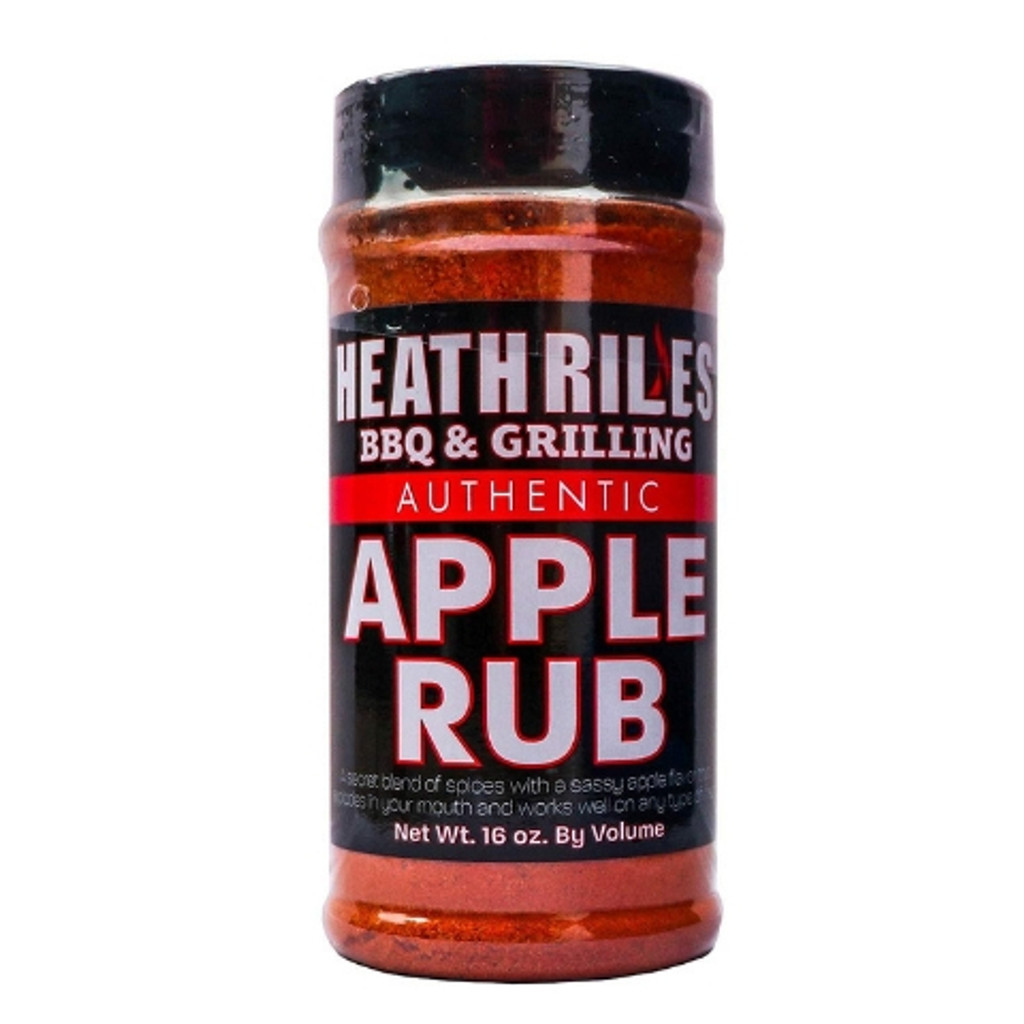 Heath Riles Apple Rub