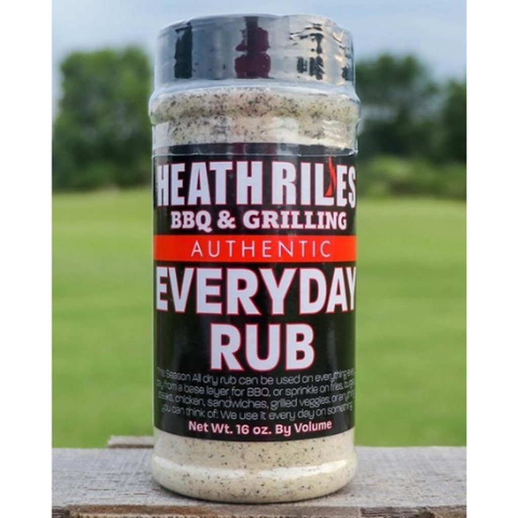 Heath Riles Everyday Rub