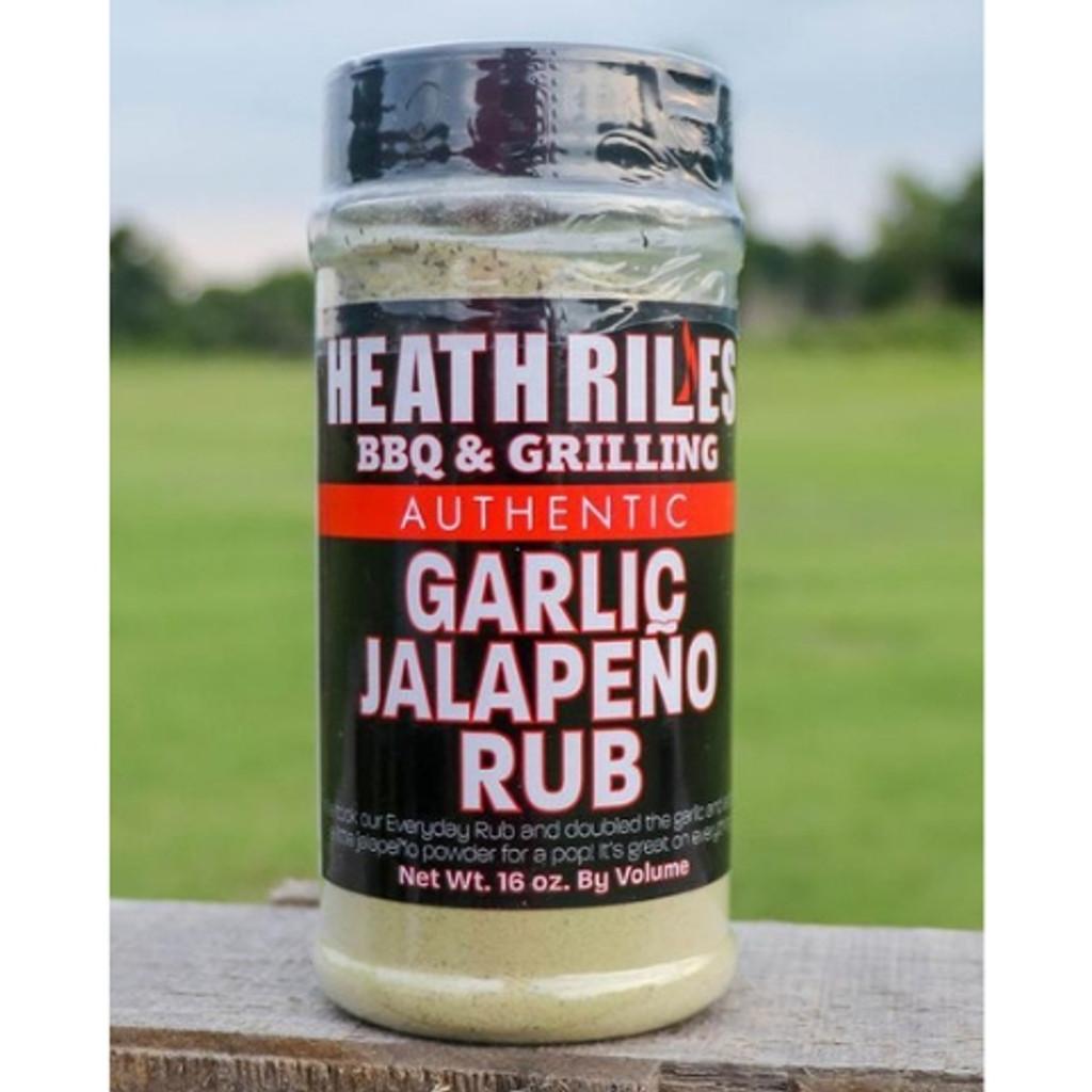 Heath Riles Garlic Jalapeno Rub