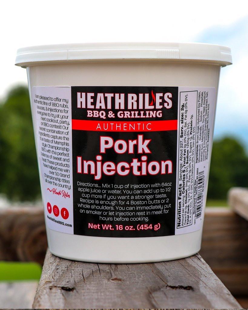 Heath Riles Pork Injection