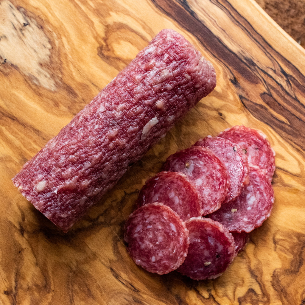 Cheshire Pork Uncured Milano Salami 6oz Chub