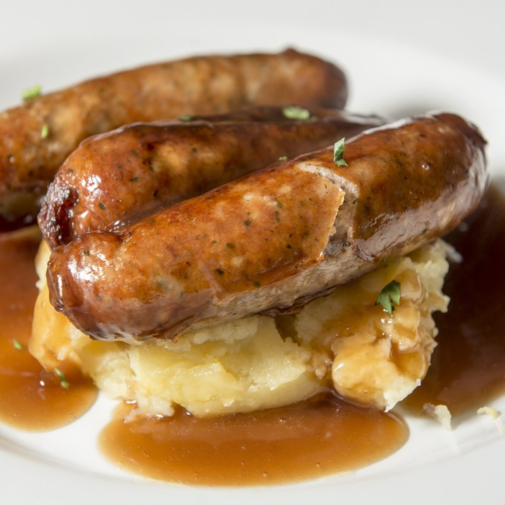 Cheshire Pork Irish Style Bangers Sausage Links