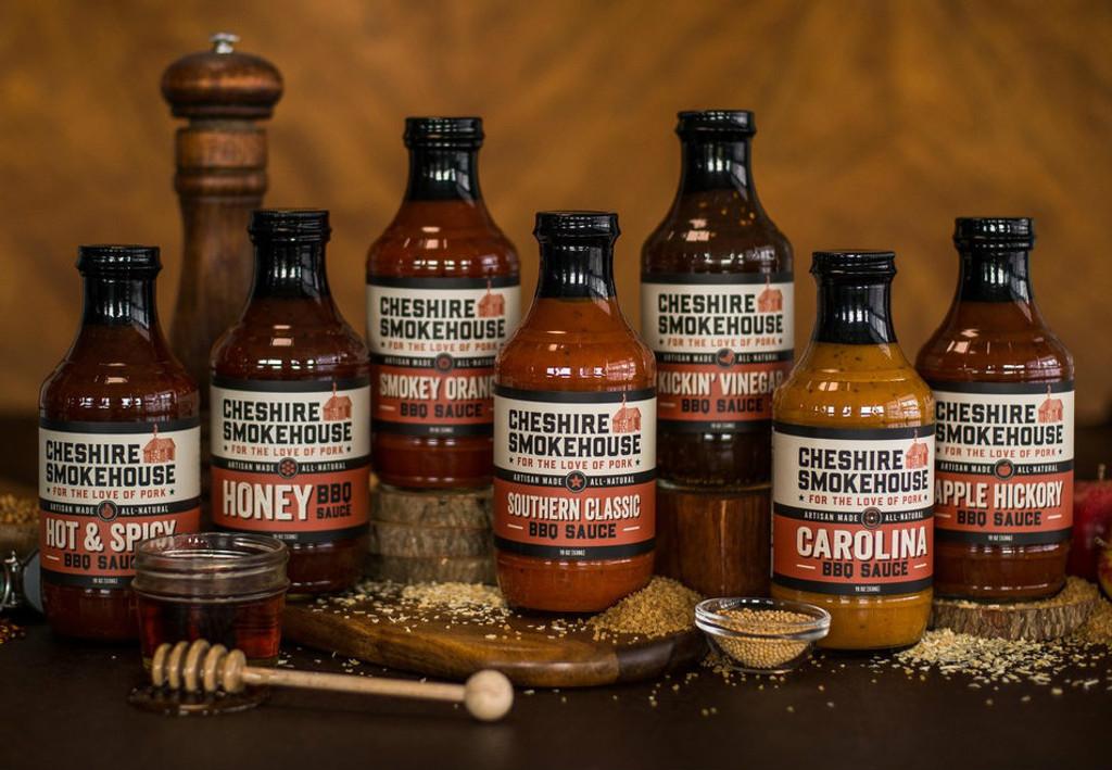 Cheshire Smokehouse Kickin' Vinegar BBQ Sauce